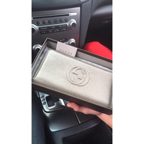 Cartera Para Dama Gucci Original Soho En Color Metalico