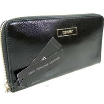 Billetera Dkny Donna Karen Zip Around Purse Ifs Para Mujer