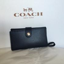 Cartera Porta Celular Coach 100% Original Y Nueva