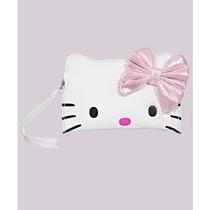 Cartera Muere Hello Kitty Arco Cut Head Mitón Blanco / Rosa
