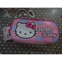 Cosmetiquera Lapicera Hello Kitty Sanrio 100% Original Etiq