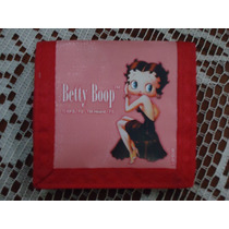 Bolsita Monedero Betty Boop 100% Original Nueva Etiquetada