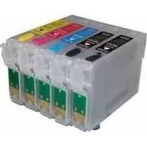 Cartuchos Rellenables Para Epson T1110 Y Tx515fn