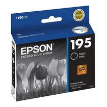Tinta Epson Cartucho Tinta 195 Negro Xp-211 Xp-201 Xp-101
