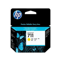 Cartucho Hp 711 Yellow 29ml Para Designjet T120, T520