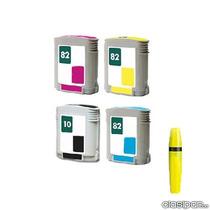 Cartuchos Para Plotter 500 Compatibles H-10negro, H-82 Color