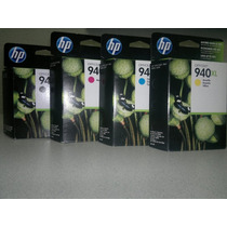 Cartuchos De Tinta Hp 940 Xl Originales