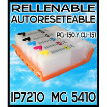 Cartucho Reseteable Para Canon Ip7210 Mg5410 Mx721 $100 C/u