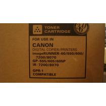 Cartucho De Toner 1650gr Canon Ir600/550/7200 Gpr1