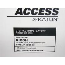Cartucho De Tinta Para Duplicador Ricoh Tipo Jp-12 / Jp-30