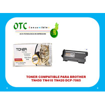 Toner Compatible Para Brother Tn450 Tn410 Tn420 Dcp-7065