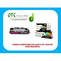 Toner Compatible Hp Q2673a Hp 3500 Hp3550 Magent