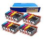 Inkjetcorner Compatibles 20 Cartuchos De Tinta Pack Para Can