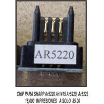 Chip Para Sharp Ar5220 Ar1415 Ar5220 Ar5223 18000 Imp $ 85