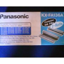 Pelicula Para Fax Panasonic Kx-fa136a Original C/2rollos