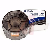 Etiquetas Brady Bmp21 Idpal Labpal, 19 Mm X 4.88 Mts,wth/blk