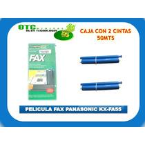 Pelicula Fax Panasonic Kx-fa55 Kx-fp81 Fp85 2 Rollos