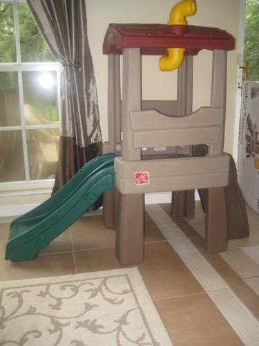 Resbaladero tobogan casa de arbol para ni os genial vbf - Casas en arboles para ninos ...