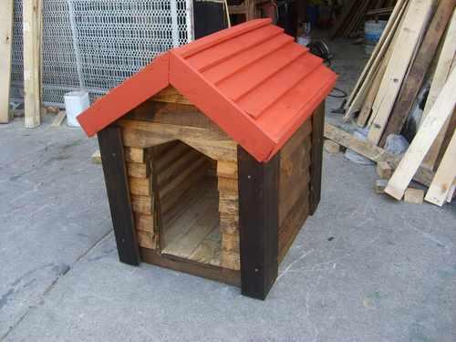Como hacer una casa de madera para perro imagui for Construir casa de perro