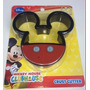 1 X Casa De Mickey Mouse De Disney Sandwich Decruster Cortad