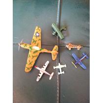 Set De Avioncitos Miniatura