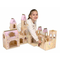 Castillo De Princesas Plegable De Madera ,melissa & Doug