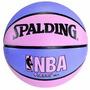 Spalding Nba Street Basketball - Rosa Y Púrpura - Tamaño Int