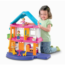 Casa Casita De Muñecas Para Niñas Juego Fisher-price Hm4