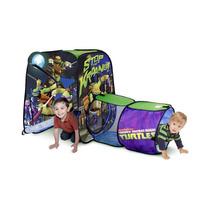 Casita Tienda Con Tunel Campaña Tortugas Ninja De Playhut