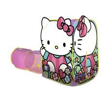 Casita Campaña Tienda Con Tunel Hello Kitty De Playhut Mn4