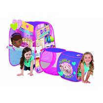 Casa Campaña Con Tunel Juguete Disney Juego Niño Niña