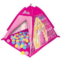Casita Para Juegos Con Pelotas, Armable Barbie 3+