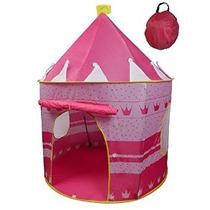 Carpa Princesa Castillo Girls Pink Juego Al Aire Libre Salas