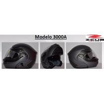 Casco Zeus 3000 A Negro/titanio Mate Lg Md Xl Msi