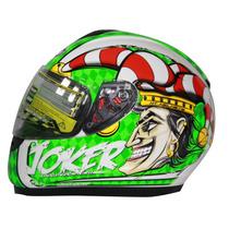 Casco Mt Helmets Thunder Joker Verde