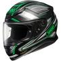 Casco Integral Shoei Rf-1200 Dominance Verde