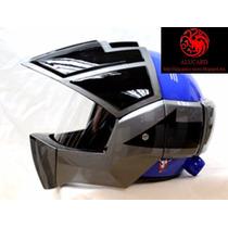 Casco Moto Robotech / Macross Roy Focker Tv