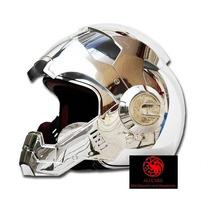 Casco Moto Ironman Cromados