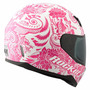 Casco De Mujer Joe Rocket Rkt700 Con Mica Uv Anti Rayones