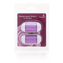 Paquete De Jefes De Rodillos 2 (púrpura) Refill Reemplazo -