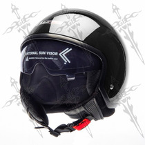 Casco Corto Con Lente Interno Abatible Europea Ecer22-05