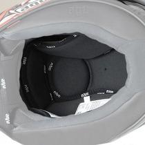 Agv Grid/t-2 Reemplazo Helmet Liner Negro 3xl