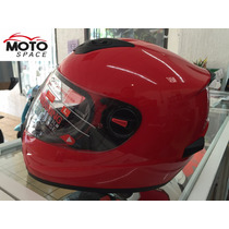 Casco Mass By Shiro Rojo Talla L