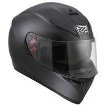Casco Agv Moto K3 Sv Mono Matte Black Negro Mate Talla L