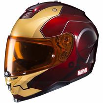 Casco Hjc Marvel Oficial Ironman