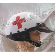 Casco De Cruz Roja, Paramédico Y Variedad De Cascos