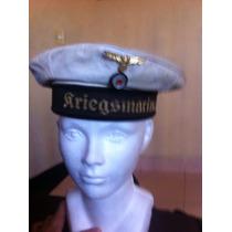Gorra De La Kriegsmarine Alemana Original
