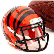 Casco Mini Nfl Riddell Cincinnati Bengals !envío Gratis!