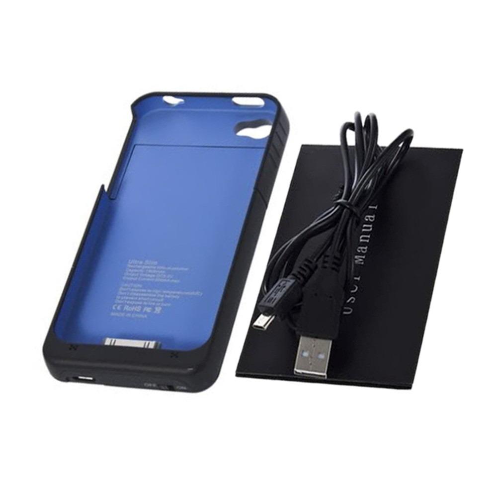 Case funda con bateria recargable iphone 4 y 4s color negro en mercadolibre - Funda bateria iphone 5c ...