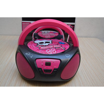 Radio Fm Am Cd Bombox Draculaura 1600 Monster High